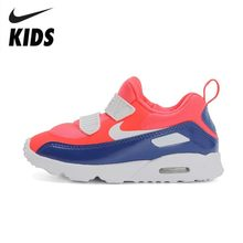 Nike Air Max Tiny 90 (td) Original Kids Running Shoes Light Breathable Casual Sports Sneaker #881924-604(China)