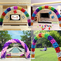 DIY 1 Set Balloon Column Arch Base Upright Pole Display Stand Water Bases Balloon Arch Wedding Party Decorations