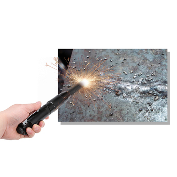 New Needle Scaler Removing Rust Slag Tool Air Pneumatic Rust Corrosion Slag Remove Deburring Cleaning Tool With 12 Steel Needles