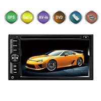 Стерео DVD плеер 6,2 дюймов 2 DIN Мультимедиа gps навигации Bluetooth Радио USB/SD/FM Автомобильная электроника