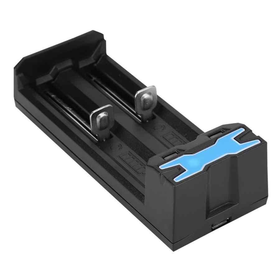 Зарядное устройство 2-слот 3,7 V USB Батарея Зарядное устройство для 10440 14500 16340 17335 17670 18350 18500 18650 Батарея