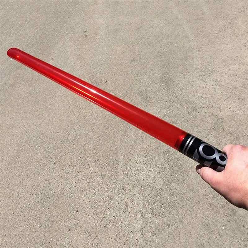 6 個模擬インフレータブルクリエイティブ剣ジャンボおもちゃ楽器のためにパーティーキッズギフト子コンサート剣おもちゃ
