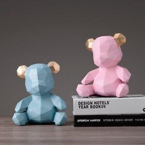 Image 5 - 돼지 저금통 테디 베어 인형 돈 상자 선물 웨딩 스토리지 박스 어린이를위한 돈 동전 홀더 상자 어린이 장난감 동전 은행