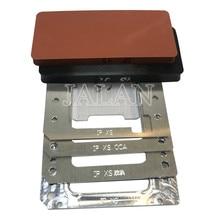 YMJ for  XS unbent flex laminating mold Lcd positioning oca vacuum laminating for mobile  repair screen renovation