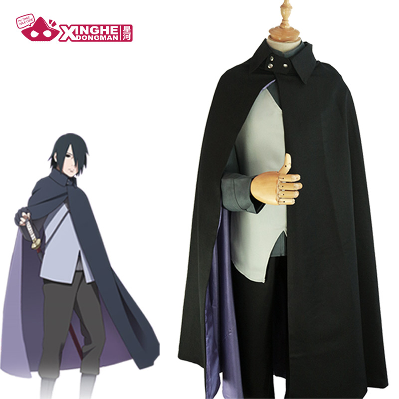 Milky Way Anime Naruto Theatrical Version Of BORUTO Uchiha Sasuke Cosplay Clothing Sasuke Cosplay Costume