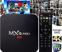 NEW MXQ Pro 4K Ultra HD 3D 64Bit Android 7.1 Quad Core Smart TV Box KODI 17.6