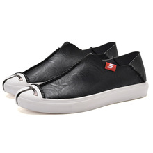 SWVIVY Shoes Men Fisherman Genuine Leather Bresthable 2019 New Spring Autume Slip-On Single Shoes Male Casual Shoes Comfortable