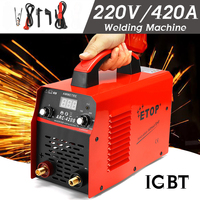 IGBT ARC 0 420A Welder Inverter Welding machine 220V Digital Display IGBT MMA ARC ZX7 welding machine Easy weld electrode Arc