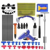 PDR herramientas Auto coche cuerpo Paintless herramientas de reparación de abolladuras kit de tirador de puente de abolladura pdr pegamento herramientas de reparación de abolladuras