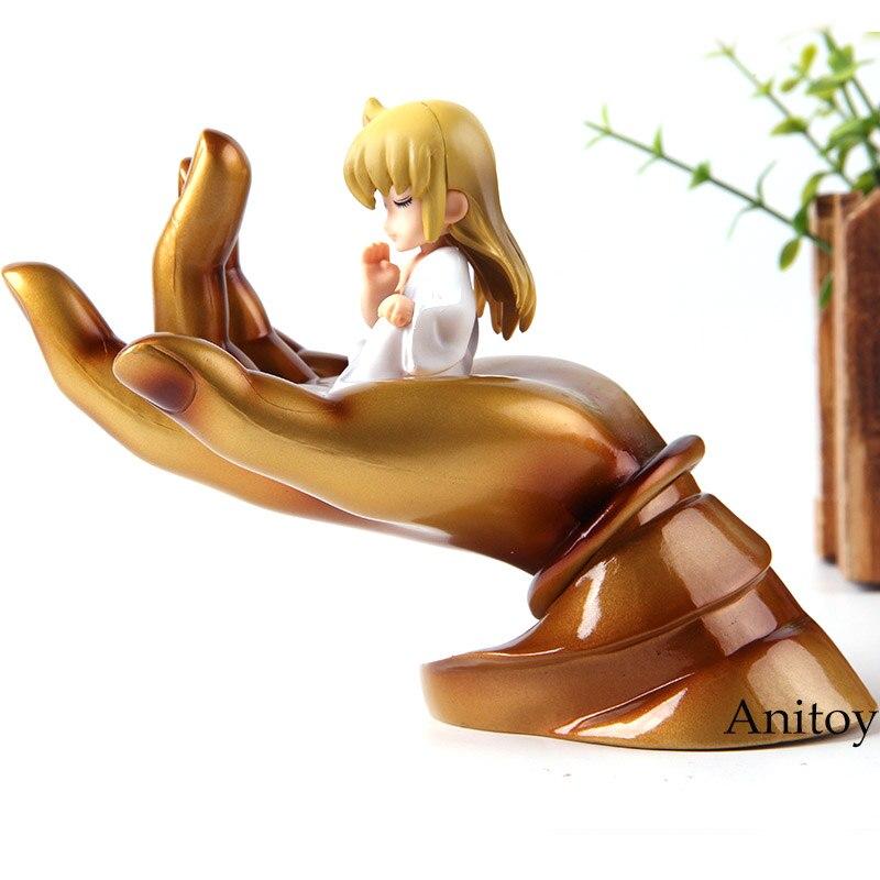 Image 2 - Saint Seiya Virgo Shaka with Buddha Hand Platform PVC Action Figure Car Decoration Dolls Collection Model ToysAction & Toy Figures   -