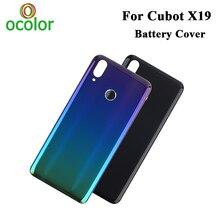 Ocolor Cubot X19 pil kapağı sabit Bateria koruyucu Case arka kapak için yedek kabuk Cubot X19 telefon