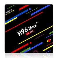 H96 Max Plus Android 8.1 Tv Box Smart Set Top Box Rockchip Rk3328 4Gb 32Gb Usb3.0 H.265 4K Pk T9 Hk1 X96 Max(32Gb)