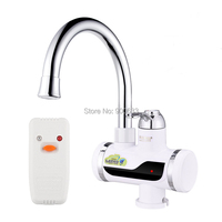 Electric Leakage Protection Tankless Electric Water Heater Kitchen Instantaneous Water Heater Instant Water Heater Faucet Below