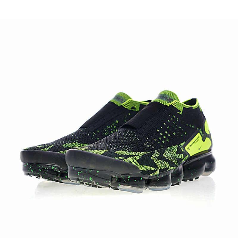 Nike Air VaporMax FK Moc 2 мужские кроссовки дышащие оригинальные удобные уличные спортивные кроссовки # AQ0996-007