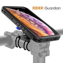 Funda de teléfono con montaje en bicicleta para iPhone Xs Max, funda giratoria para manillar de bicicleta, funda de teléfono para iPhone XS Max, a prueba de golpes