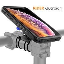 자전거 마운트 전화 케이스 아이폰 Xs 맥스 케이스 회전 자전거 핸들 막대 마운트 홀더 전화 커버 아이폰 XS 최대 Shockproof