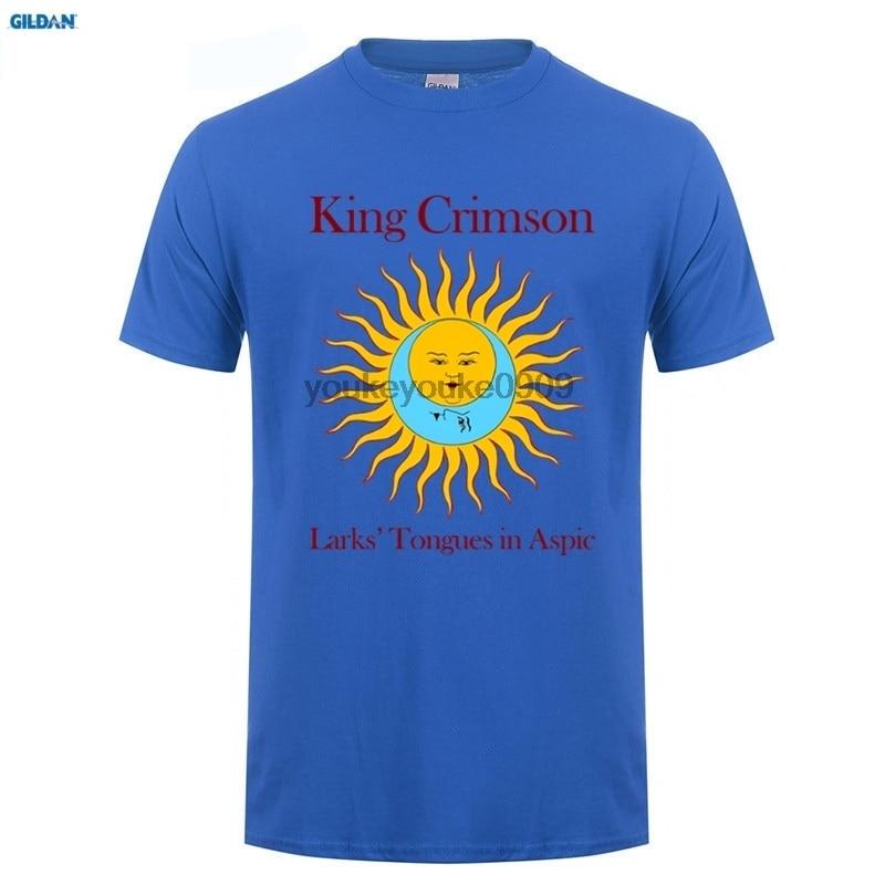 Vintage King Crimson Larks Tongues In Aspic Band T Shirt GILDAN