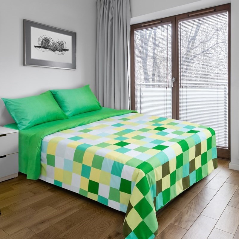 [Available with 10.11] linens euro Pixels (green) [available with 10 11] linens euro pixels beige