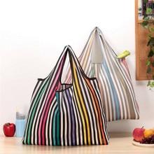 все цены на Mesh Net String  Nonwoven foldable Shopping Bag Reusable Tote Bag Grocery Storage Handbag Eco Shoppers 1PC онлайн