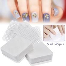200pcs/400 Pcs Lint-Free Nail Wipes Napkins Nail Art Nail Remover Wipes For Gel Polish Remove Pure Cotton Nails Pads Paper