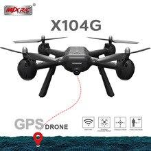 2019ใหม่MJX X104Gมอเตอร์ถ้วยกลวงGps Rc Drone 5G Wifi Fpv Hdกล้องRc Quadcopter Vs z5 Rcเฮลิคอปเตอร์เฮลิคอปเตอร์Dron