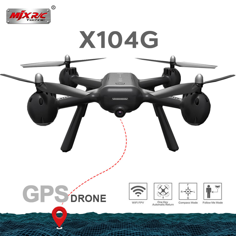 2019 New MJX X104G Hollow Cup Motor Gps Rc Drone With 5g Wifi Fpv Hd Camera Rc Quadcopter Vs Z5 Rc Helicopter Gift Toys Dron2019 New MJX X104G Hollow Cup Motor Gps Rc Drone With 5g Wifi Fpv Hd Camera Rc Quadcopter Vs Z5 Rc Helicopter Gift Toys Dron