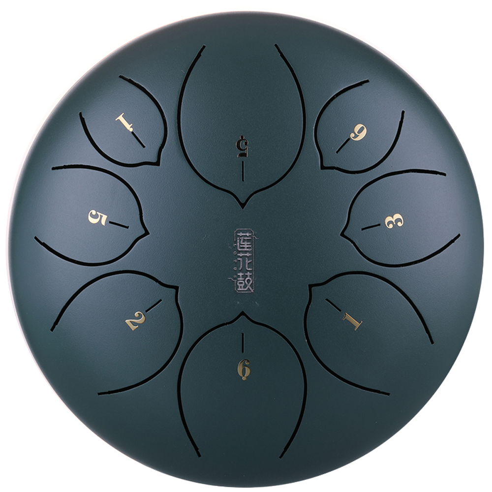 8 inch 8 notes steel tongue drum mini hand pan drums with drumsticks percussion musical. Black Bedroom Furniture Sets. Home Design Ideas