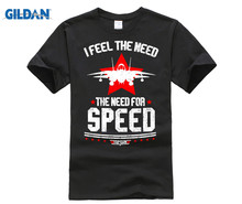 GILDAN I Feel The Need The Need For Speed Top Gun Shirt все цены