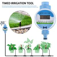 Automatic Irrigation Watering Device Controller Timed Irrigation Tool Blue for Outdoor Indoor Lawn Plants Tree Watering Timer