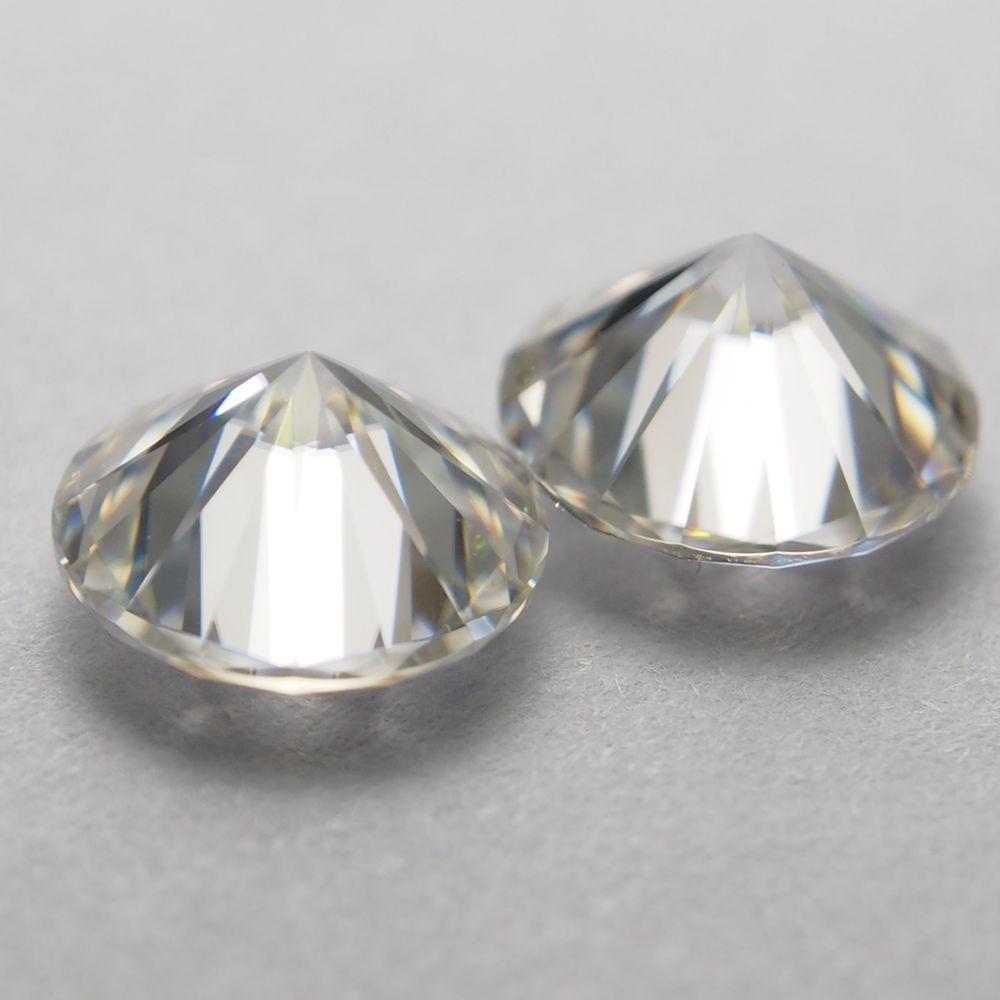 7mm DEF rond blanc Moissanite pierre en vrac Moissanite diamant 1.2 carat pour bague - 5