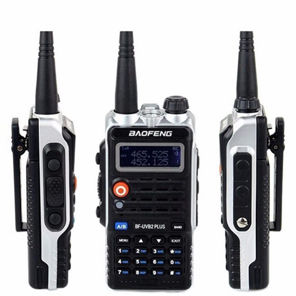 Baofeng Professional Hand Bf-b2plus Walkie-Talkie Dual-Segment Dual-Display Dual-Frequency With Led Flash Light