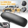 Новый Автомобильный Центральный короб  консоль  подлокотник из искусственной кожи  черная крышка для BMW/Mini Cooper 2002-2008