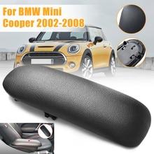 Новый Автомобильный Центральный бокс консоль PU кожаный подлокотник Крышка черный для BMW/Mini Cooper 2002-2008