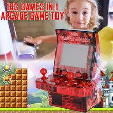 183 Nostalgic Games Mini Classic Arcade NES Puzzle Game Console Support TF Card Retro Handheld Video Game Toy for Children Kids