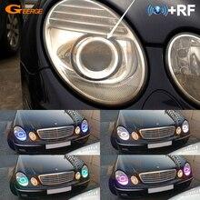 Для Mercedes Benz e class w211 E200 E220 E270 E280 E320 E420 CDI 2003-2009 RF Bluetooth управление многоцветный RGB led angel eyes