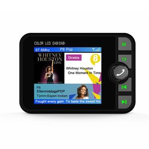Image 3 - השתפר אופנה צבע מסך רכב DAB רדיו דיגיטלי רדיו מתאם עם Bluetooth הזרמת מוסיקה
