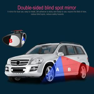 Image 5 - 2 in 1 360 Degree Rotation Double Sided Blind Spot Mirror Reversing Parking Auxiliary Car Rear View Mirror