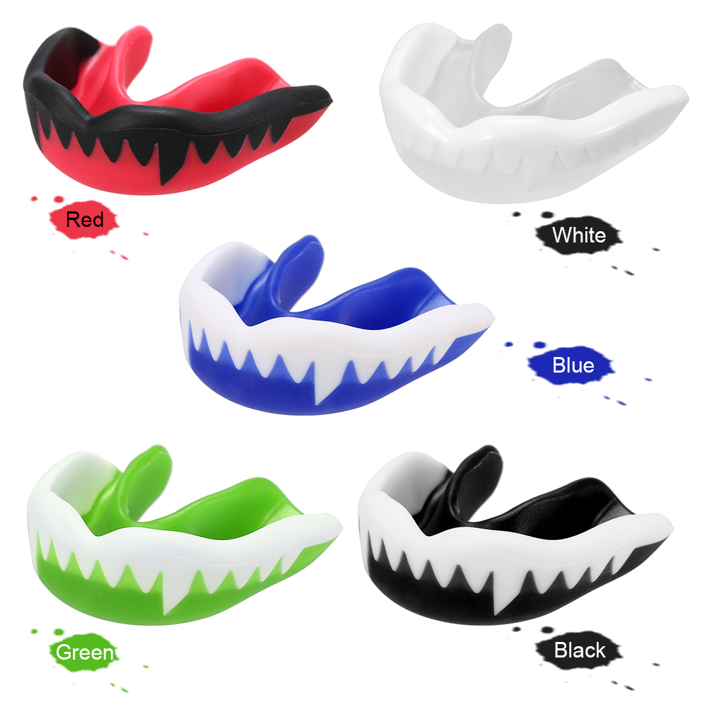 Tooth Guard Adults Mouth Guard Teeth Protector for Boxing Karate Fighting Rugby