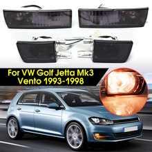 Для VW Golf Jetta Mk3 12 V 21 W спереди дым линза противотуманная фара сигнал свет лампы Фирменная Новинка