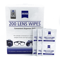 Zeiss Eco friendly Germany laptop micro fiber cloth screen antibacterial For Macbook Air computer screen cleaners 200 counts