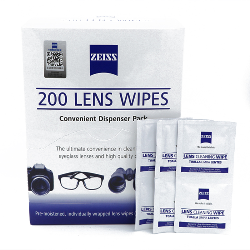 Zeiss Eco-friendly Germany Laptop Micro Fiber Cloth Screen Antibacterial For Macbook Air Computer Screen Cleaners 200 Counts