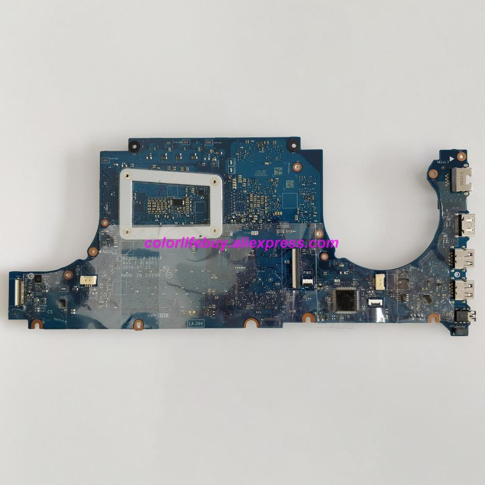 Image 2 - Genuine RJ4MM 0RJ4MM CN 0RJ4MM BCV00 LA D991P I5 6300HQ N16P GX A2 Laptop Motherboard for Dell Inspiron 7566 Notebook PC-in Laptop Motherboard from Computer & Office