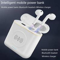 Universal 3 In 1 Intelligent Charging Power Bank Business Bluetooth Headset Charger Both Wired Charging And Wireless Charging