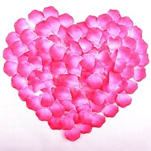 1000pcs/lot Wedding Confetti Decoration Rose Petal Artificial Flowers  For Marriage Decor Valentines Day