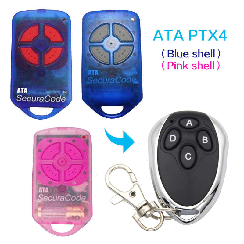 ATA PTX4 433,92 MHz remote control ATA PTX-4 rolling code Garage Gate Door Replacement Remote Control