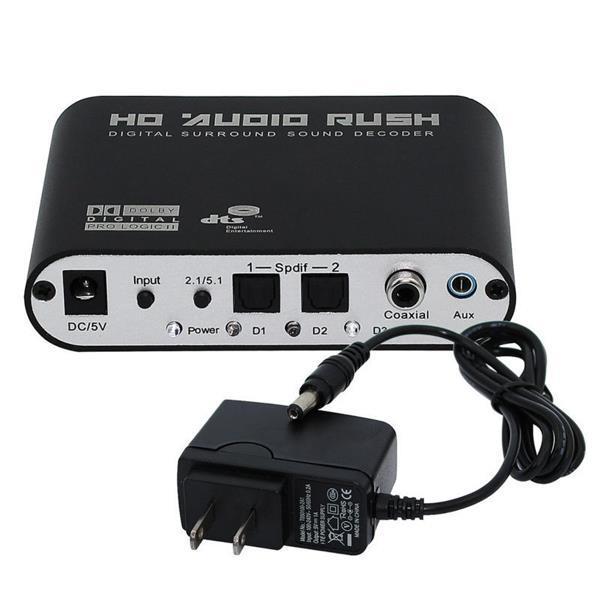 Befangen Gehemmt Selbstbewusst Unsicher Verlegen Leory 5,1 Audio Rush Digital Sound Decoder Konverter-optische Spdif/coaxial Dolby Ac3 Dts Stereo r/ L Zu 5.1ch Analog Audio Rheuma Lindern