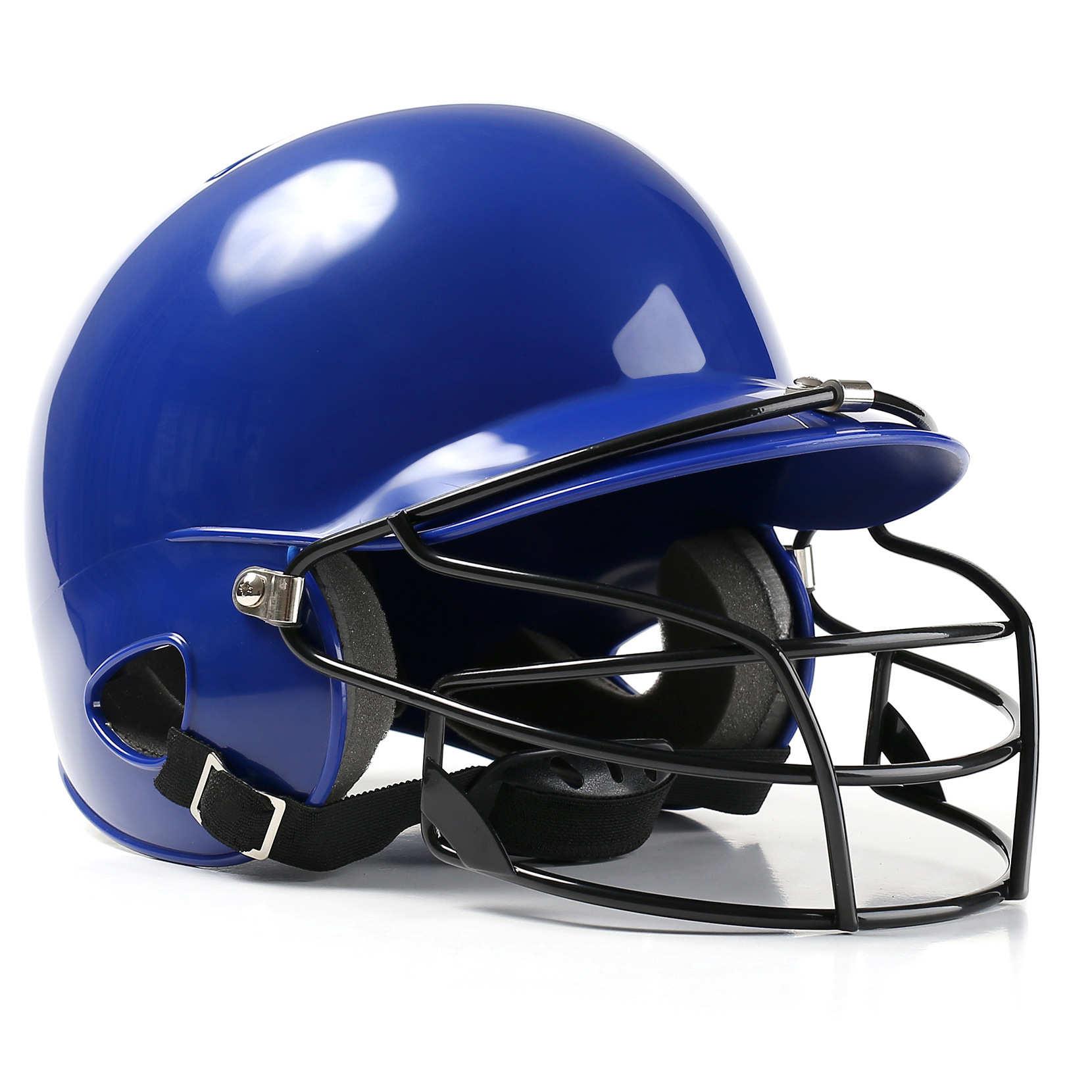 2019 casco de béisbol Unisex orejas transpirables protección completa de béisbol casco de seguridad cabeza guardia negro, rojo, azul