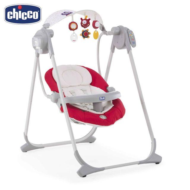 """Качельки Chicco Polly Swing Up  + подарок Игрушка для ванной Chicco """"Кит"""" 6м+"""