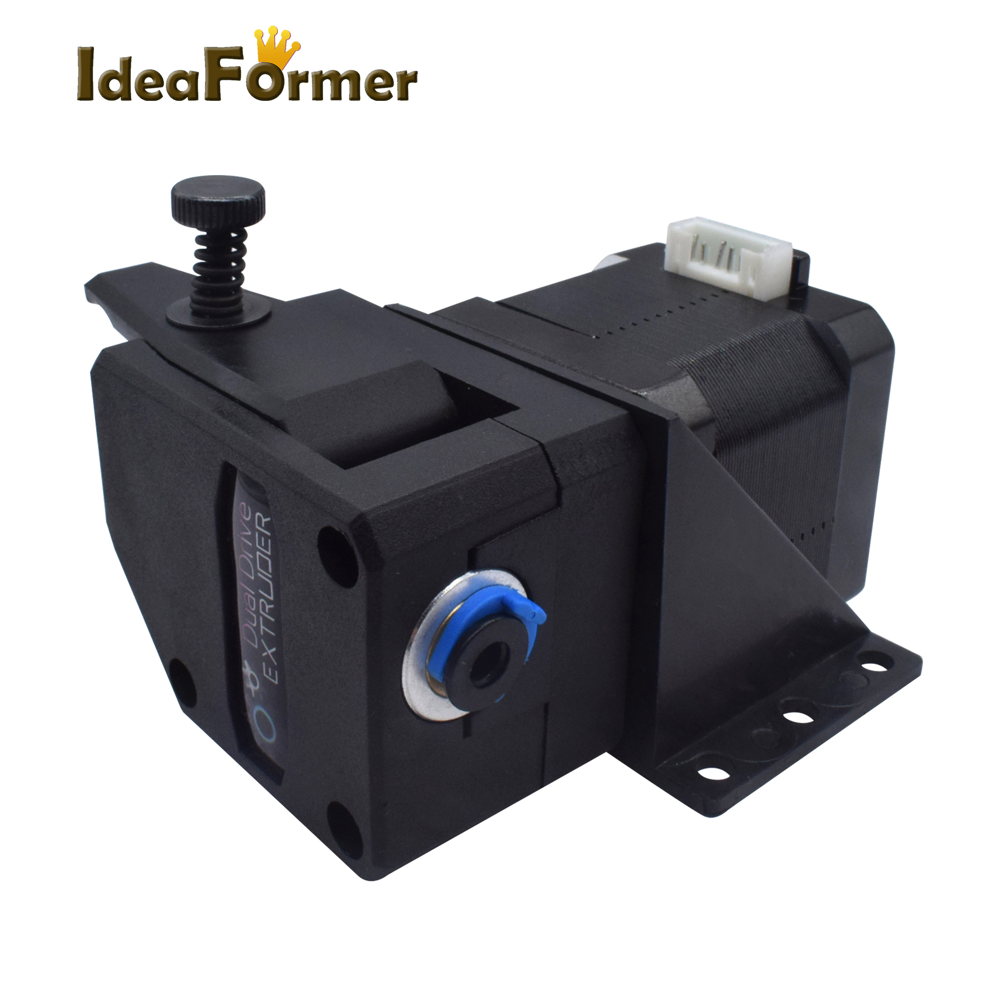 Ideaformer extrudeuse Bowden extrudeuse BMG clonée Btech double entraînement extrudeuse 1.75mm Filament double engrenage pour imprimante 3D CR10 MK8