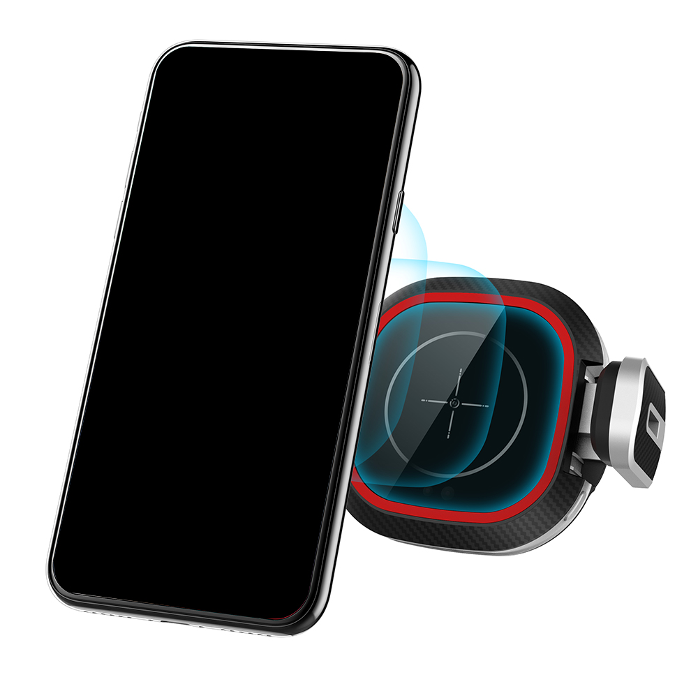 Fast Wireless Charging Car Phone Holder TYPE C Interface Holder For iPhone Huawei Xiaomi 4.0 6.5 Mobile Phone Accessories